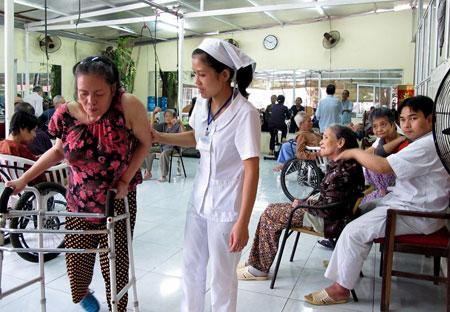 Những hoạt động thiết thực của công tác xã hội trong bệnh viện