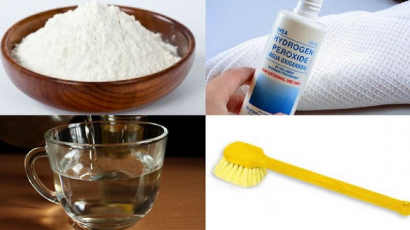 Cách dùng baking soda làm trắng răng và oxy