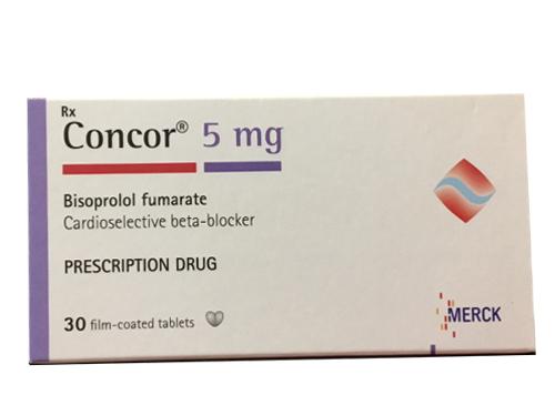 thuốc concor 5 mg