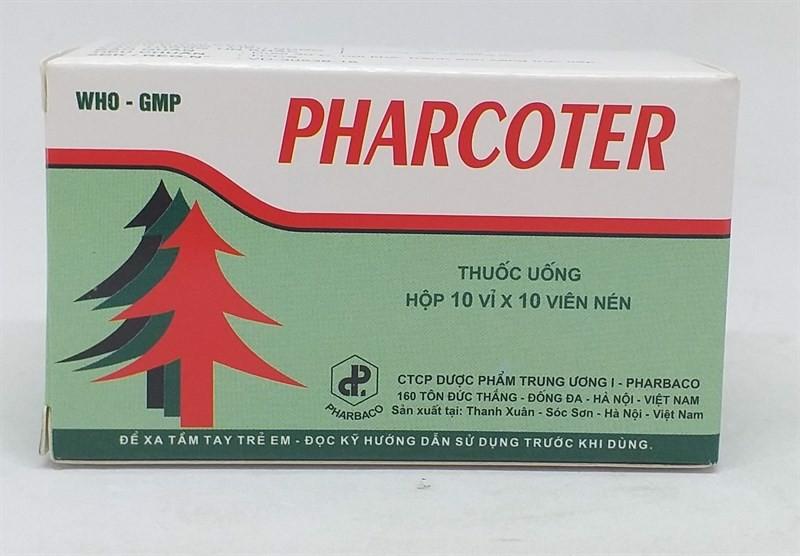 thuốc pharcoter giá bao nhiêu