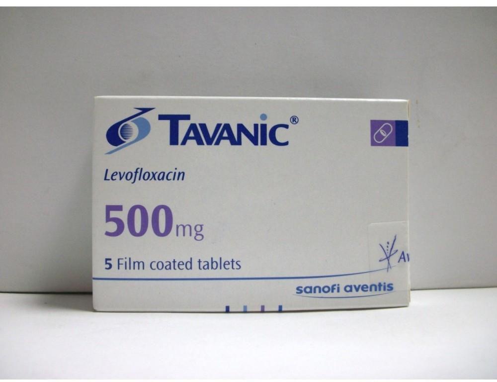 thuốc tavanic 500mg giá bao nhiêu