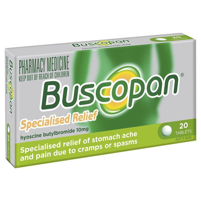 thuốc buscopan có tác dụng gì