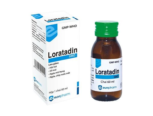 thuốc loratadin có tác dụng gì