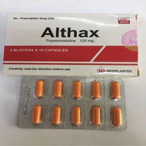 Thuốc Althax 120mg có tác dụng gì?