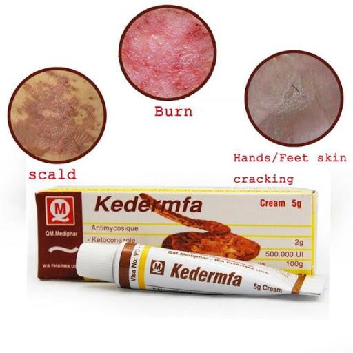 Thuốc Kedermfa có tác dụng gì?