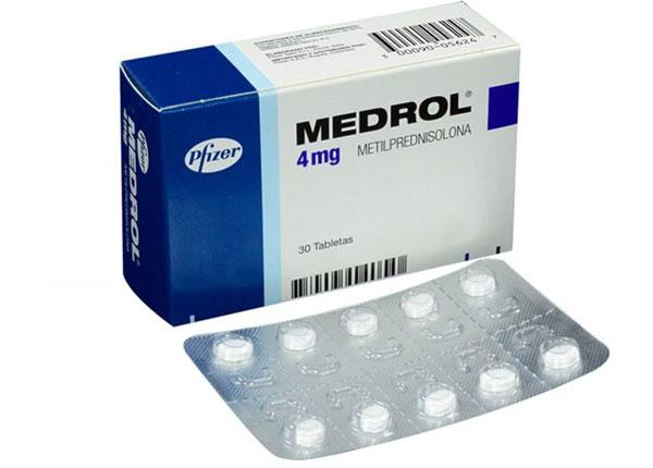 Tác dụng thuốc Medrol